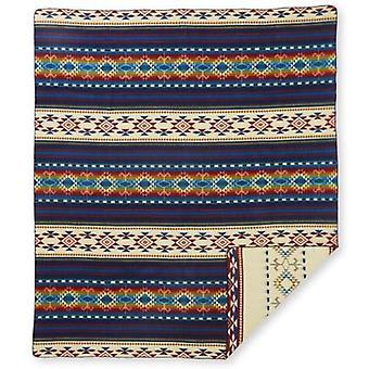 Ultra Soft Southwestern Rainbow Handmade Woven Blanket
