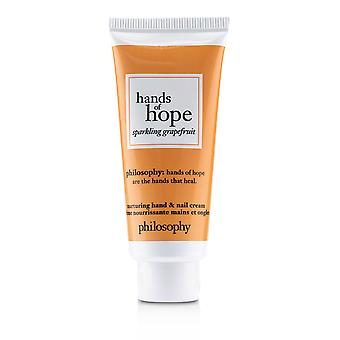 Hands of hope nurturing hand & nail cream sparkling grapefruit 235633 30ml/1oz