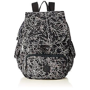 Kipling City Pack S - Multicolored Women's Backpacks (Navy Stick Print) 27x33.5x19 cm