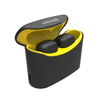 Bluedio Eleven T-Mini Wireless Bluetooth 5.0 TWS Ears Pods Air Wireless Earphones Earbuds Yellow