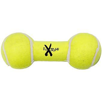 Ferribiella Tennis Dumbbell W/Squacker M (Hunde , Spielzeug und Sport , Beißringe)