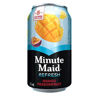 Minute Maid Refresh Mango Passion Sfruit Dose -( 355 Ml X 12 Dosen )