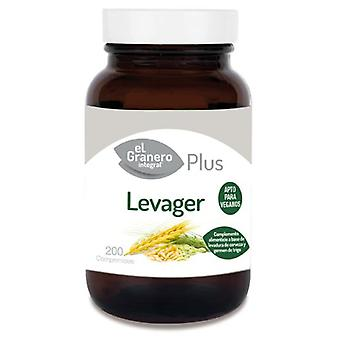 エル ・ グラネロ積分 Levager Lev.cerveza と小麦胚芽 200Comp。