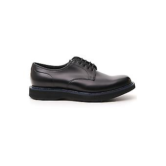 Church's Eec0449snf0suu Men's Black Leather Lace-up Shoes