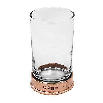 Tinnen roos geciseleerde Hiball geest glas - 8 oz