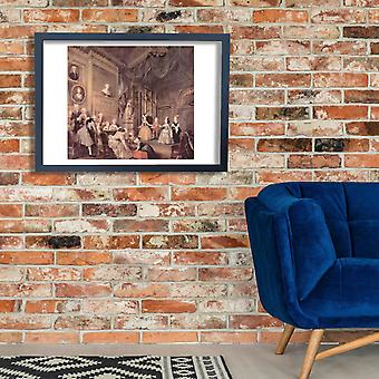 William Hogarth - The Show Poster Print Giclee