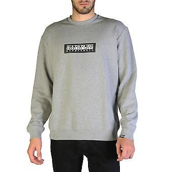 Napapijri Original Men Fall/Winter Sweatshirt - Grey Color 35870