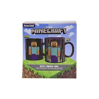 Minecraft Enderman Wärmewechsel Becher ideal & einzigartig perfekt für Kaffee & Tee 325ml