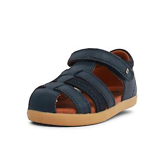 Bobux i-walk & kid+ navy roam closed toe sandals