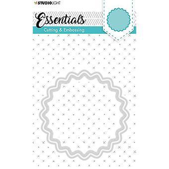 Studio Light Embossing Die Cut Stencil Essentials nr.203 STENCILSL203