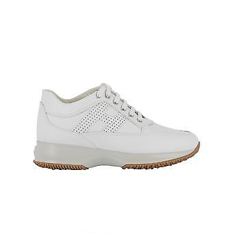 Hogan Hxw00000e30klab001 Damen's Weißeleder Sneakers