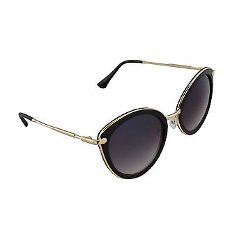 Sunglasses Women Cat Eye - Gold/ZwartHL179_1