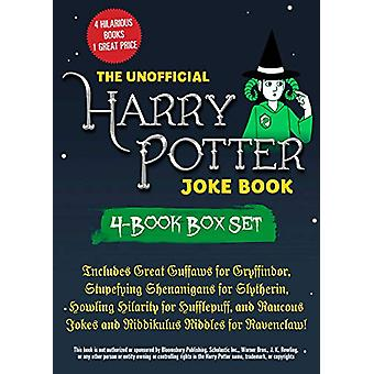 The Unofficial Harry Potter Joke Book 4-Book Box Set - Includes Great