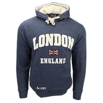 Unisex london england hoodie hooded sweatshirt denim blue new 2020 colour