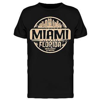 Miami Florida Stamp Tee Men's -Kuva Shutterstock