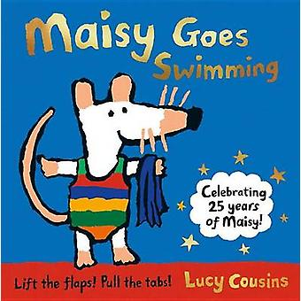 Maisy Goes Swimming by Lucy Cousins - 9780763694616 Book