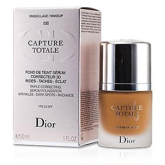 Capture totale triple correcting serum foundation spf25 # 030 medium beige 167322 30ml/1oz
