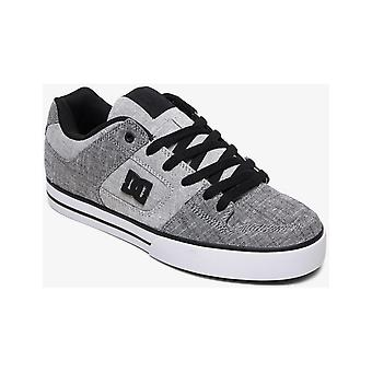 DC Pure TX SE Trainers in Grey/White/Grey