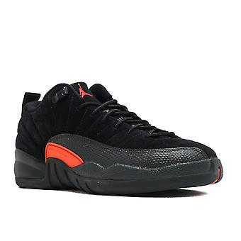 Air Jordan 12 retrô baixa Bg (Gs) 'Max Orange' - 308305 - 003 - sapatos