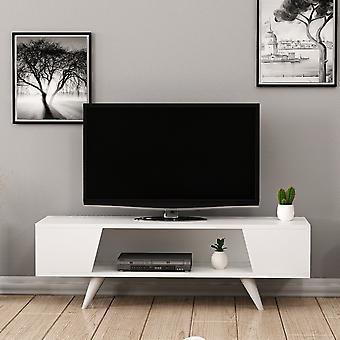 Mobile Porta TV Nouby Color Bianco in Truciolare Melaminico 120x35x38 cm