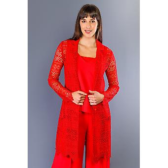 Women's Twinset Red Jacket