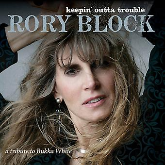 Rory Block - Keepin Outta Trouble: A Tribute to Bukk [CD] USA import