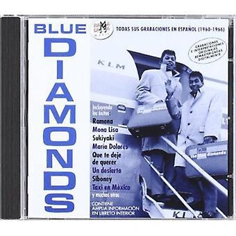 Blue Diamonds - Todas Sus Grabaciones En Espanol 1960-19 [CD] USA import