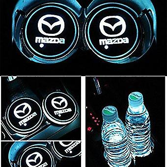 2X Mazda Led Bottom Plate for Cup Holder