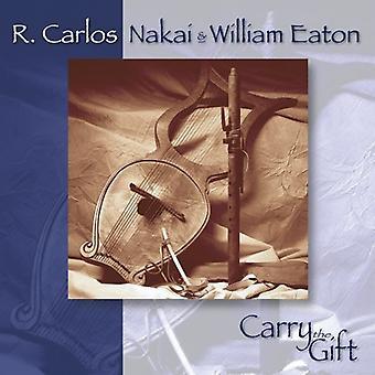 Nakai/Eaton - Carry the Gift [CD] USA import