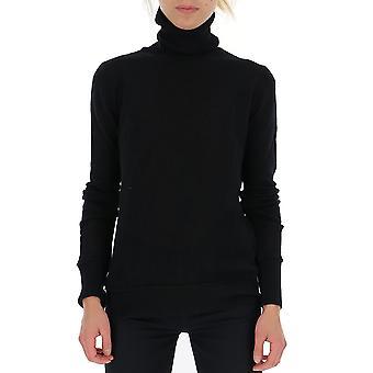 Amiri W9w0501wcblack Women's Black Cashmere Sweater