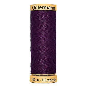 Gutermann 100% Natural Cotton Thread 100m Hand and Machine Colour Code  - 3832