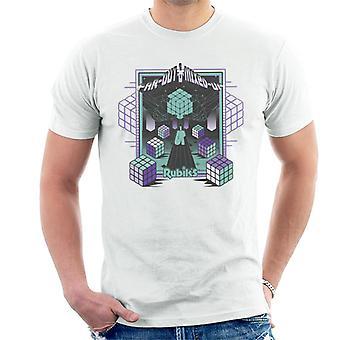 Rubik ' s ver uit & gemengd mannen ' s T-shirt