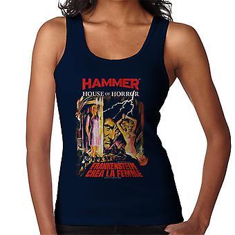 Hammer Frankenstein Crea La Femme Poster Women's Vest