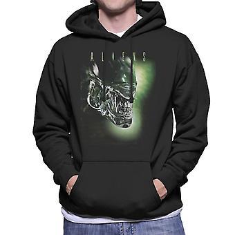 Aliens Movie Poster Xenomorph Men-apos;s Sweatshirt à capuchon