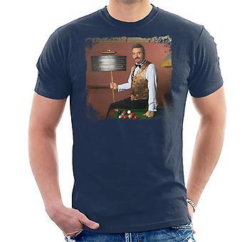 TV tider Snooker spelare John Jungfrun från de stora genombrott mäns T-Shirt
