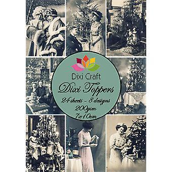 Dixi Craft Dixi Toppers 7x10cm Vintage Valokuvat 3