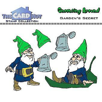 The Card Hut Garden's Secret Clear Stamps