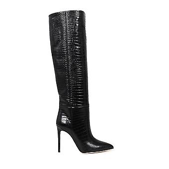 Paris Texas Px133lxcabs99 Women's Black Leather Boots
