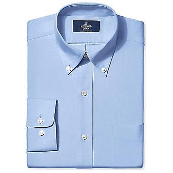 ボタンダウンメン&アポス;sクラシックフィットボタンカラーノンアイアンドレスシャツ(ポケット)、..
