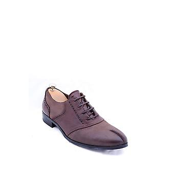 Wingtip lace up brown shoe | wessi