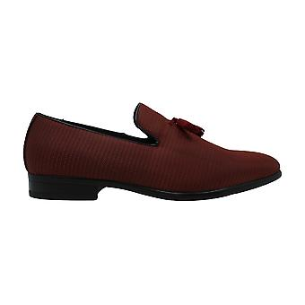 Stacy Adams Mens Tazewell Cotton Fermé Orteil Penny Loafer
