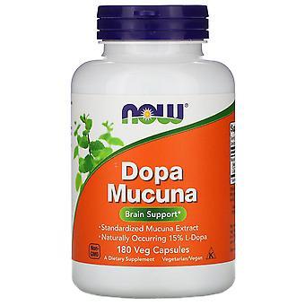 Nu Foods, Dopa Mucuna, 180 Vegetarisch Capsules