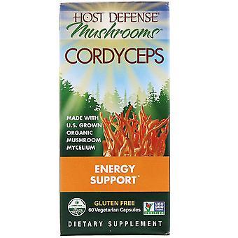 Fungi Perfecti, Mushrooms, Cordyceps, Energy Support , 60 Vegetarian Capsules