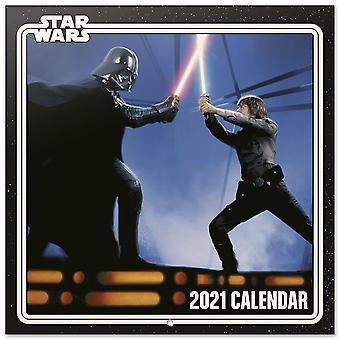 Star Wars Calendar 2021 Classics Official Calendar 2021, 12 months, original English version.