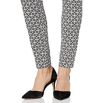 Essentials Women's Skinny Pant, Black Medallion, 4 Long