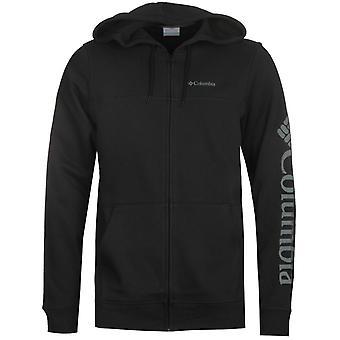 Columbia schwarz Kapuzen Sweatshirt