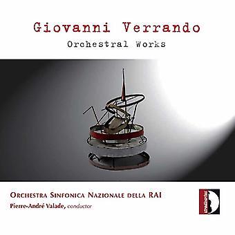 G. Verrando - Giovanni Verrando: Orchestral Works [CD] USA import