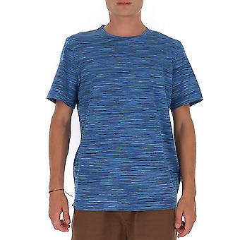 Missoni Mul00037bj0001f702b Men's Blue Cotton T-shirt