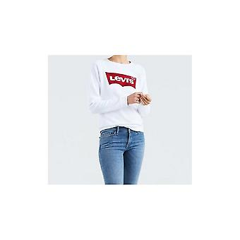 Levi's® Levis Relaxed Graphic Crew Neck Sweatshirt (better Batwing White)