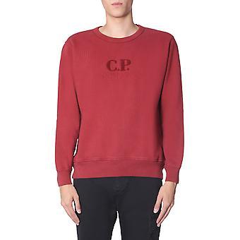 C.p. Företag 07cmss250a05594o576 Män's Bourgogne bomull Sweatshirt